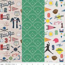 Varsity Baseball and Softball by Riley Blake