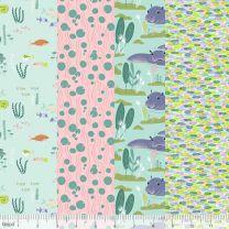 Congo Hippos-Blend Fabrics