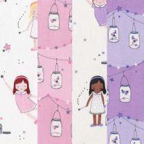 Twinkle Fairies-Michael Miller Fabrics