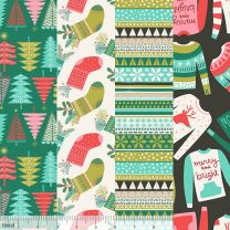 Snugly Sweaters-Blend Fabrics Christmas