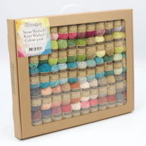 Scheepjes Colour Pack Stone Washed and River Washed