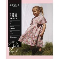 Mabel Tiered Dress-Liberty Fabrics Pattern