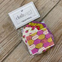 Clothyard Honeycomb Paper Piecing