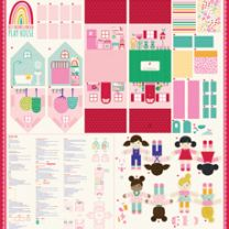 Moda Best Friends Playhouse Panel