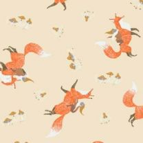 Gnomes and Foxes-Wheat by Dear Stella