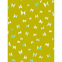Cotton + Steel Once Upon a Time - Flying Ribbon Citron