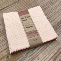 Cotton + Steel Warm 5x5 pack