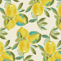 Art Gallery Fabrics-Yuma Lemons Mist in Knit