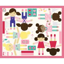 Moda Best Friends Doll Panel
