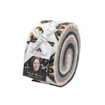 Dwell in Possibility Jelly Roll - Gingiber - Moda Fabrics