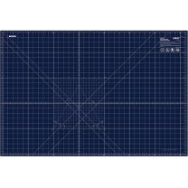 "OLFA Double-Sided Cutting Mat 24""x36"" Navy"