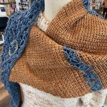 Tunisian Crochet I: Wyss Shawl