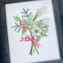 Crayon Tinted Embroidery Workshop