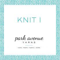 Knit I: Learn the Knit Stitch