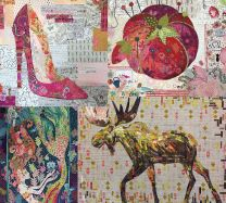 Laura Heine Collage Quilt Pattern