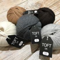 Toft UK DK Yarn-100g