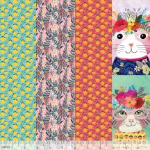 Floral Pets by Mia Charro-Blend Fabrics