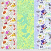 6PM Somewhere - Down the Rabbit Hole - Curiouser & Curiouser - Tula Pink for Free Spirit Fabrics