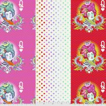 The Red Queen - Suited and Booted - Curiouser & Curiouser - Tula Pink for Free Spirit Fabrics