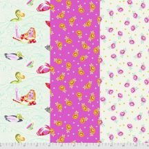 Sea of Tears - Baby Buds - Curiouser & Curiouser - Tula Pink for Free Spirit Fabrics