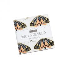 Dwell in Possibility Charm Pack - Gingiber - Moda Fabrics