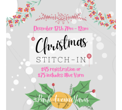 Christmas Stitch-In